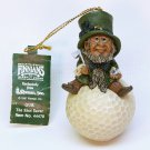 Declan's Finnians ornament Gur Irish leprechaun Guardians of the Blarney Stone Roman 1997 golf ball