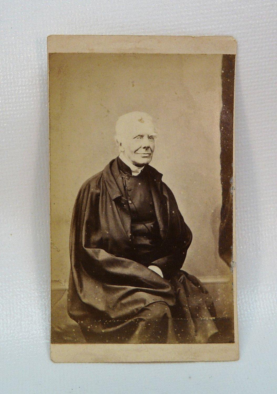 Antique CDV of a handsome older man gentleman uniform