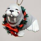 vintage Hallmark Jolly Walrus ornament Christmas 1988 QX4731