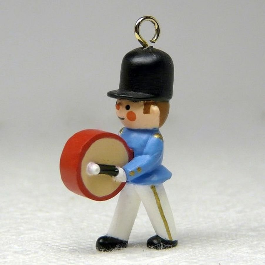 Vintage Hallmark Miniature Little Soldier Christmas Ornament 1989 QXM5675