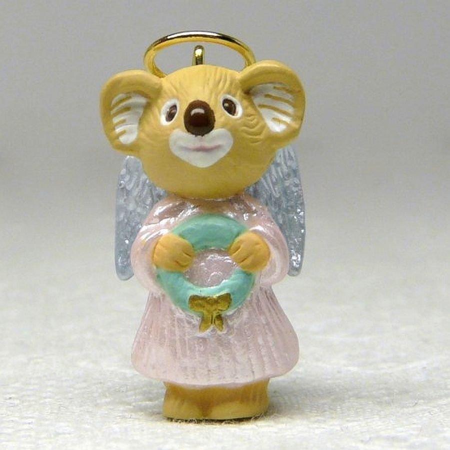 Vtg Hallmark Miniature Nature's Angels 3 Christmas Ornament QX5451 1992