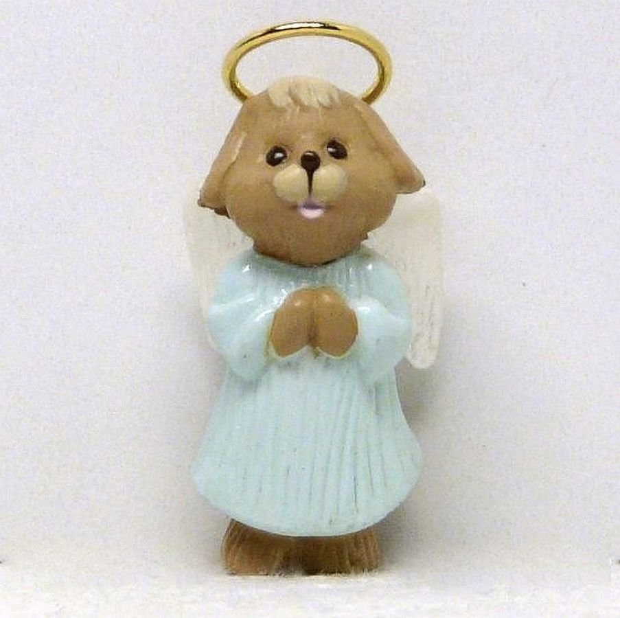 Vtg Hallmark Miniature Nature's Angels ornament 1991 QXM5657