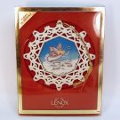 Lenox Christmas Ornament Magical Evening First in Series Ivory Fine China Original Box