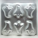 Wilton Mini Ghost Cake Pan 2105 3845 with 6 sections Halloween 1991