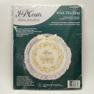 J and P Coats Ribbon Embroidery Kit wedding With This Ring