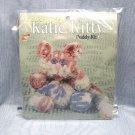 Sewing Craft Kit Wimpole Street Creations Chenille Katie Kitty Buddy Kit cat kitten