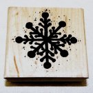 Big Snowflake Rubber Stamp JRL Design