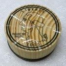 Rubber Stamp Play Money Quarter