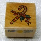 Rubber Stampede Delta Rubber Stamp Candy Cane Christmas