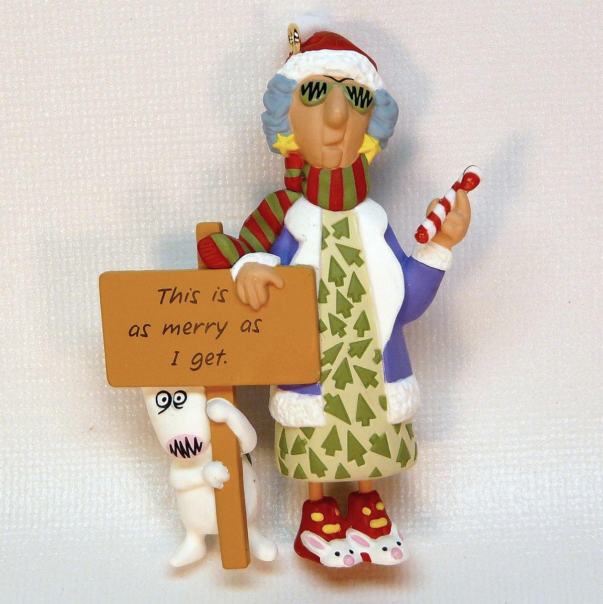 Best 28 Maxine Christmas Ornaments 1998 Hallmark