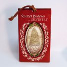 Rachel Badeau Christmas tree and Santa ornament by Silvestri