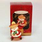 Hallmark Feliz Navidad Christmas ornament Santa chili peppers QX6999 1999