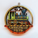 Vintage Hallmark 1976 Locomotive Tree Trimmer Christmas ornament QX2221