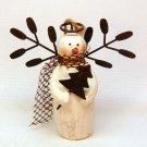 Ganz country angel snowman Christmas ornament