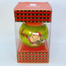 Vintage Ziggy and Fuzz 1981 satin ball Christmas ornament American Greetings