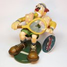 Cast Art Slapstick Ace in the Face tennis clown figurine