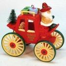 Vtg Hallmark 1988 Here Comes Santa #10 Kringle Koach QX4001