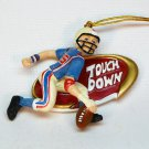 Football Touch Down Christmas ornament