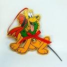 Vtg Pluto the Walt Disney Co. wooden ornament