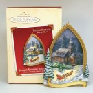 Hallmark Thomas Kincade Sunday Evening Sleigh Ride ornament QX2903 2002