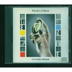 art of noise : in visible silence CD 1988 11 tracks used mint