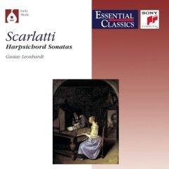 Scarlatti : Harpsichord Sonatas, gustav leonhardt (CD used mint)