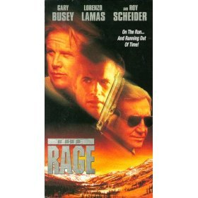 the rage starring gary busey lorenzo lamas VHS used very good condition