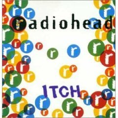 radiohead : itch CD 1994 EMI toshiba japan used mint