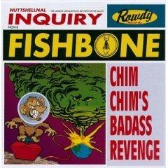 fishbone : Chim Chim's Badass Revenge CD 1996 rowdy used mint