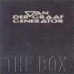van der graaf generator - the box 4-disc boxset 2000 virgin new