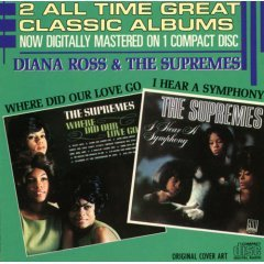 diana ross & the supremes : where did our love go / i hear a symphony (CD 1986 used)