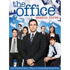 the office ; season three DVD 4-disc set used mint