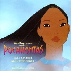 pocahontas : original movie soundtrack (CD 1995 wonderland / buena vista, 28 tracks, used mint)