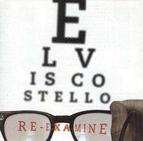 elvis costello : re-examine (CD 2001 rhino, used mint)
