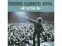creedence clearwater revival : platinum (2-CD import, 2001 fantasy / BMG, 40 tracks, used mint)