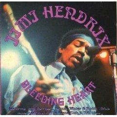 jimi hendrix - bleeding heart CD 1994 castle 8 tracks used mint