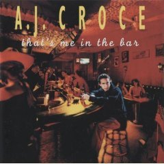 a.j. croce: that's me in the bar (CD 1995 Private Music, used mint, barcode punched)