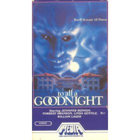 to all a goodnight (VHS 1983 Media, 90 minutes, color, used very good)