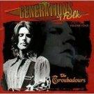 generations of folk volume four : the troubadours (CD 1998 vanguard, used mint)