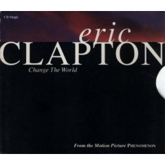 eric clapton-  change the world CD single 1996 reprise 2 tracks used very good