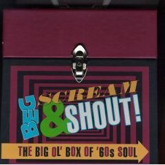 beg scream & shout - big ol box of 60s soul CD 6-disc boxset 1997 rhino #22928 used mint