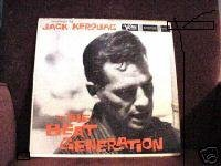 jack kerouac : on the beat generation (CD 1990 verve / polygram, 9 tracks, used very good)