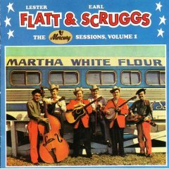 lester flatt & earl scruggs : mercury sessions volume 1 (CD 1987 rounder / polygram, used mint)