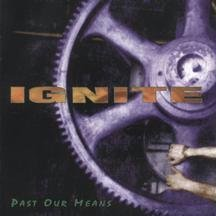 ignite - past our means CD ep 1996 revelation used mint