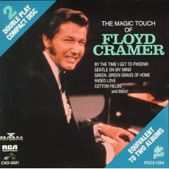 floyd cramer : the magic touch of (CD 1989 RCA / pair, used like new)