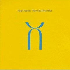 king crimson : three of a perfect pair (CD 1984 EG / polygram, made in w germany, used mint)