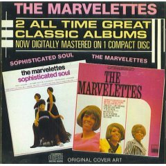 the marvelettes : the marvelettes & sophisticated soul CD 1986 motown tamla used like new
