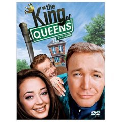 the king of queens 3rd season DVD 3 disc set used like new