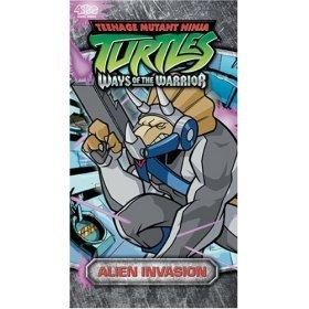 teenage mutant ninja turtles : alien invasion : vhs used mint