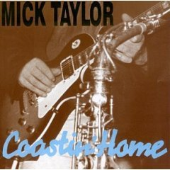 mick taylor : coastin' home, CD 1995 shattered music, 6 tracks, used near mint